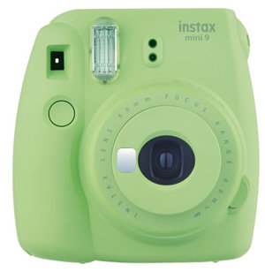 Fujifilm Instax Mini 9 Camera Lime Green w/10 Pack Film