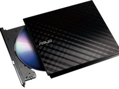 ASUS SDRW-08D2S-U Lite 8x DVD-RW USB External Optical Drive Black
