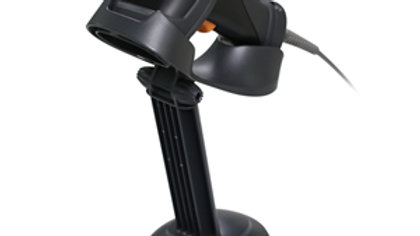Zebex Z-3392 Plus Linear Imager 2D Barcode Scanner USB Black + Stand