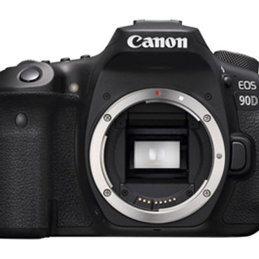 Canon EOS 90D 32.5MP APS-C DSLR Camera Body Only