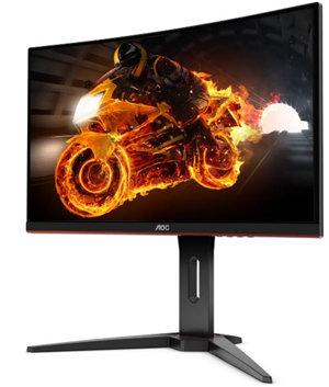 """AOC C24G1 24"""" Curved 1920x1080 FHD 1ms 144Hz DP HDMI VGA Monitor"""