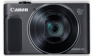 Canon PowerShot SX620HS 20.2MP CMOS 25x Zoom Digital Camera Black