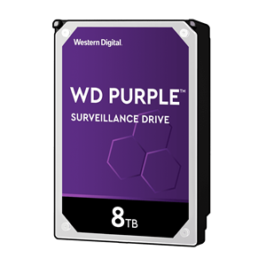 WD Purple 8TB SATA3 256MB Cache 7200RPM Surveillance Hard Drive