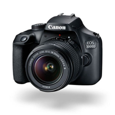 Canon EOS 3000D 18.0MP DSLR (EFS 18-55 III) Camera