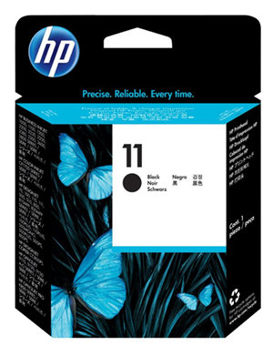 HP 11 Black WW Printhead