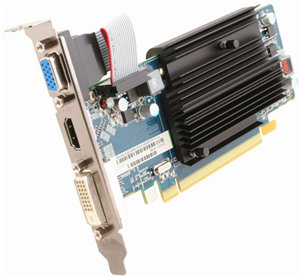 Sapphire Radeon R5 230 2G D3 2GB GDDR3 PCIE Low Profile Graphics Card