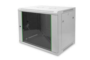 "Digitus 9U 19"" Wall Mount Server Cabinet 600(w)x450(d)x505(h)"