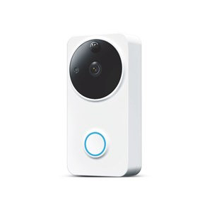 LASER SMART HOME 720P HD OUTDOOR VIDEO DOOR BELL - WHITE