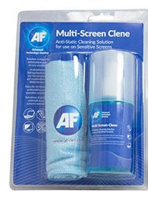 AF Screen-Clene + Large Microfibre Cloth ~ 200ml