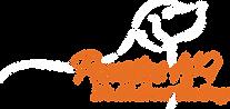 Logo - Pawsitive K-9 White w Orange Path