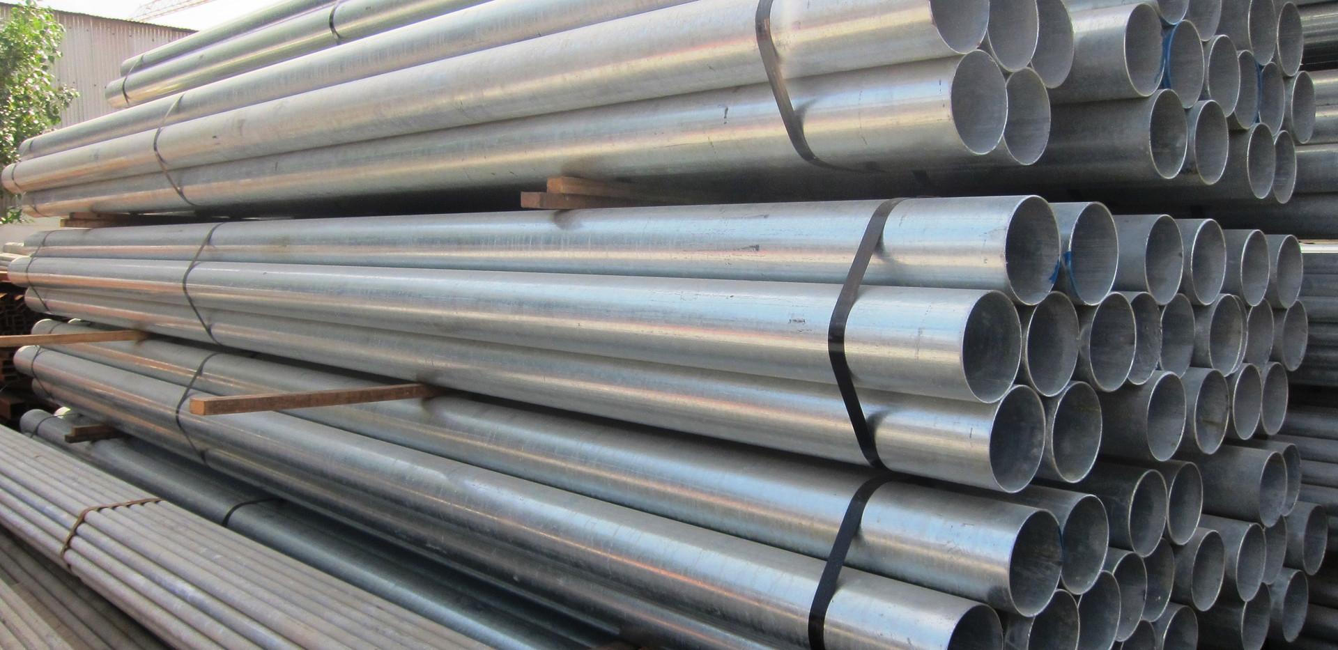 Galvanized Plain End Pipes