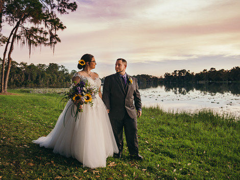 Mallory and Steven - The Barn at Crescent Lake Wedding - Tampa Wedding Photographer
