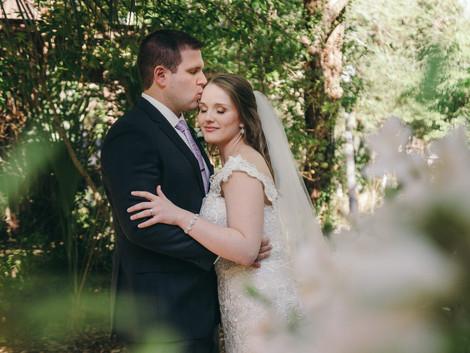 Courtney and Alex ~ Gainesville Wedding Photographer ~ Sweetwater Branch Inn, Gainesville FL