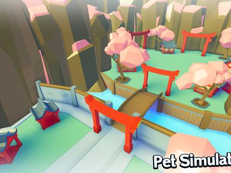 The Worlds of Pet Simulator 2!