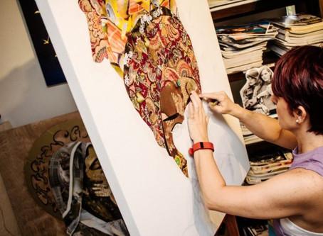 Artist Anabel Ruiz Debuts in Spectrum Miami during Art Basel Week 2016 by Amplified Art Network