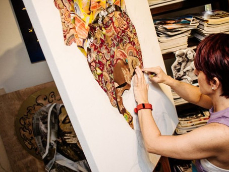 Artist Anabel Ruiz Debuts in Spectrum Miami during Art Basel Week 2016 by Amplified Art Network
