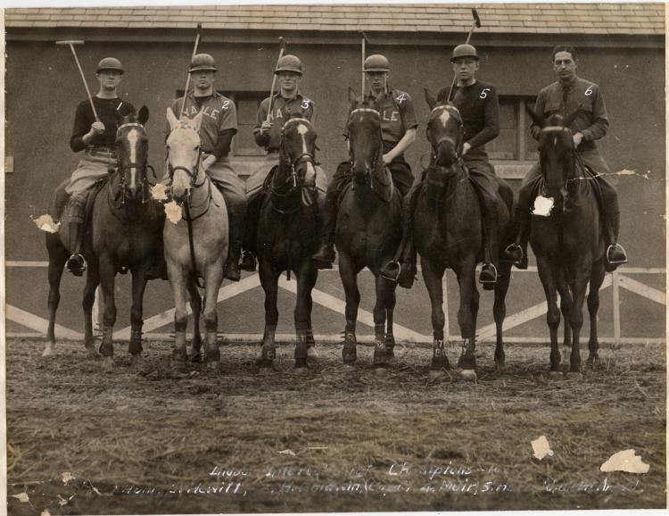Polo was established at Yale in 1903