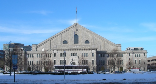 The Yale Polo Armory closed in 2009