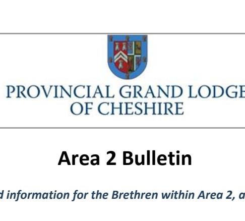 Area 2 Summer Bulletin