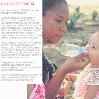 """""""Yo Soy Cedesocial"""" (20th Anniversary)."""