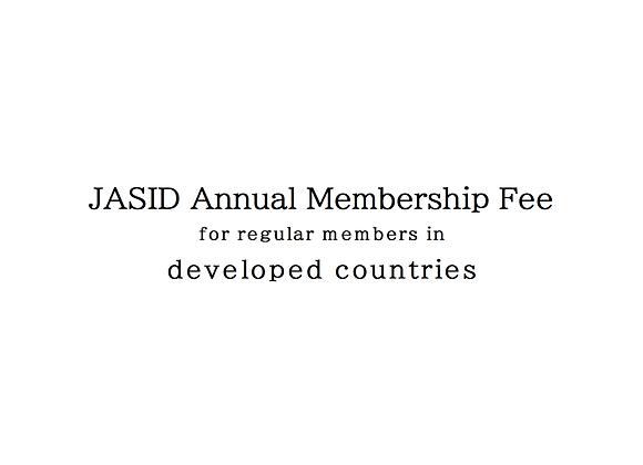 Regular members in developed countries