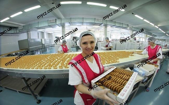 Фабрика по производству печенья