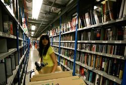 Работа на книжном складе