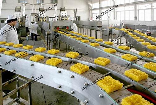 Работа на производстве вермишели
