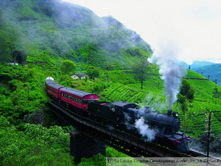 COLOMBO TO BADULLA-BY TRAIN 🚂