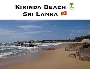 KIRINDABEACH SRI LANKA