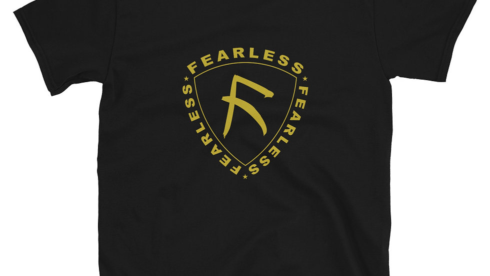 Gold FEARLESS Tee