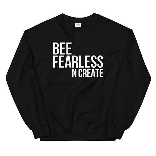 Bee Fearless N Create Crewneck