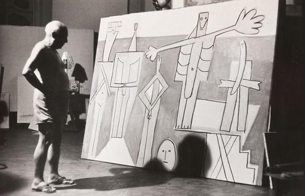 Пикассо в Женеве Купальщицы в Гарупе
