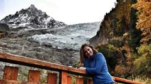 В Горы: Ледник Bosson, Шамони