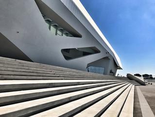 Вокзал будущего - Афрагола.  By Zaha Hadid