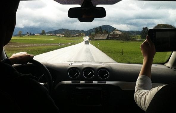 По дороге в путешествии