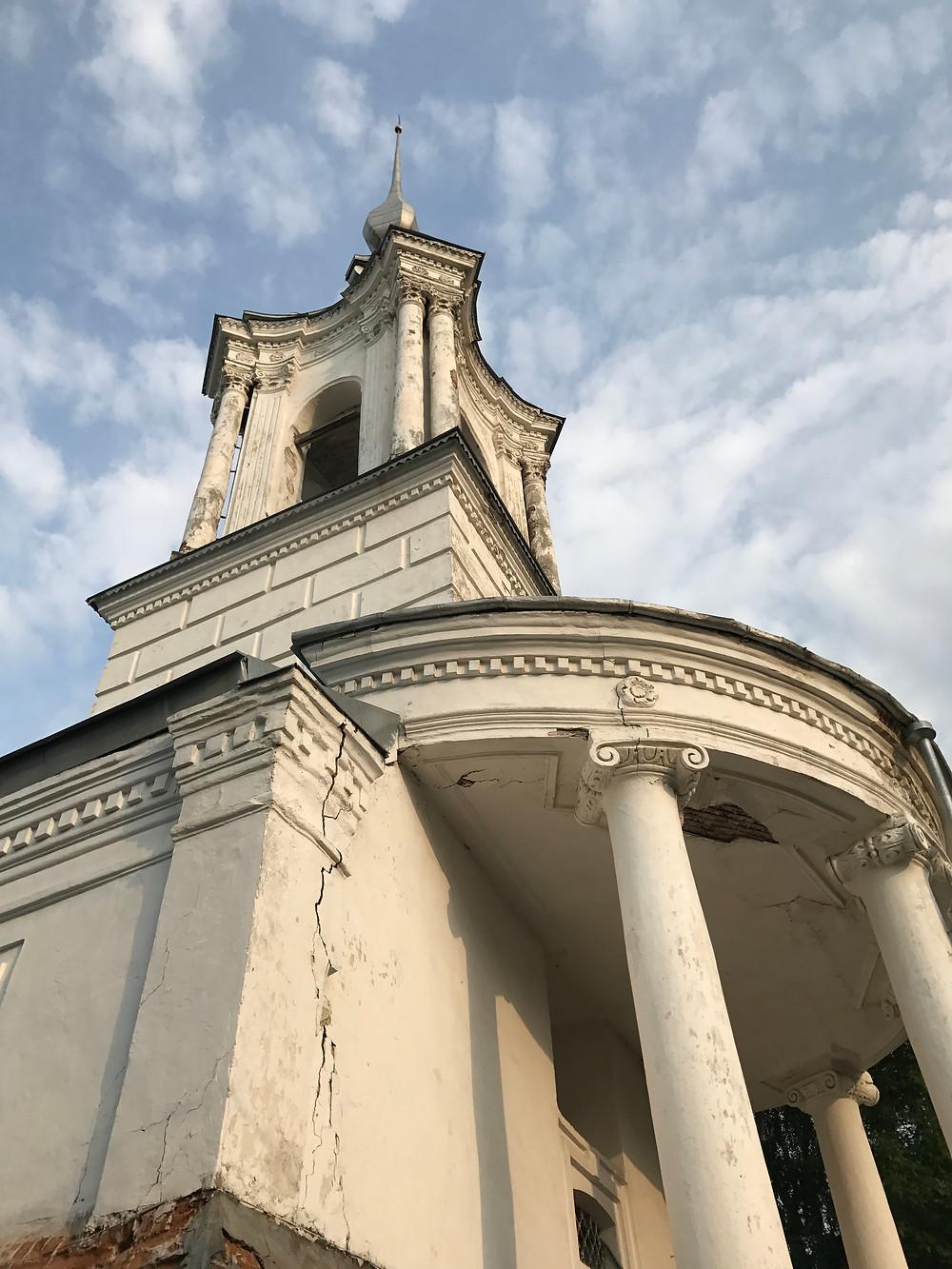 церковь Варлаама Хутынского Вологда
