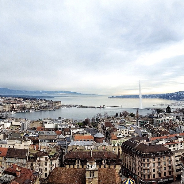 Женевский фонтан, Швейцария