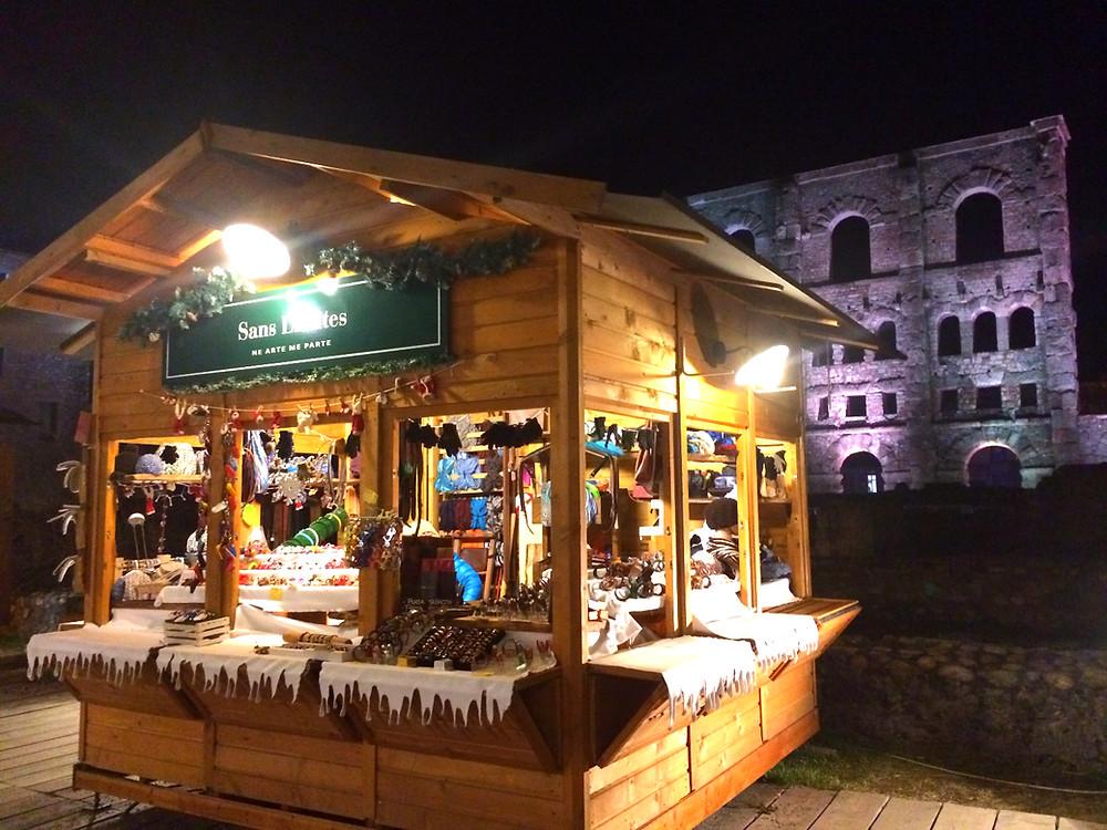 Рождественский рынок в Аосте