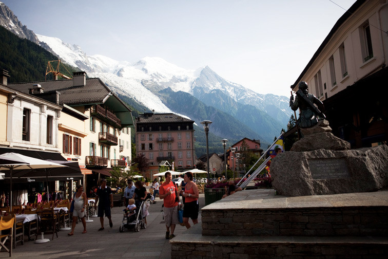 Шамони Франция Альпы