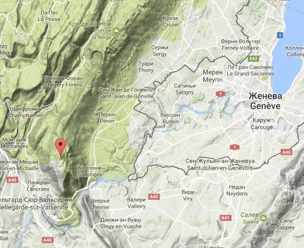 Jura Le Crêt de la Goutte поход в горы Женева