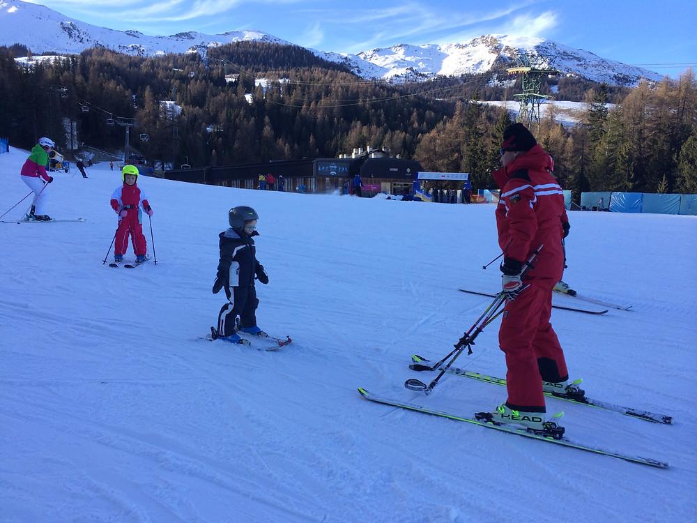 Горные лыжи в Аосте, Италия