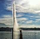 Женева Женевский фонтан