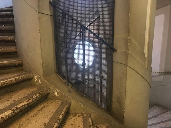 Лестница в галерее Боргезе