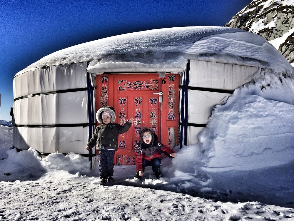 Дом швейцарского деда мороза