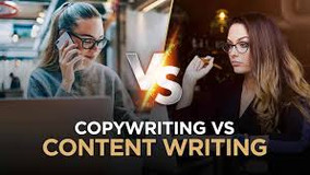 Difference Between Content Writer And a Copywriter