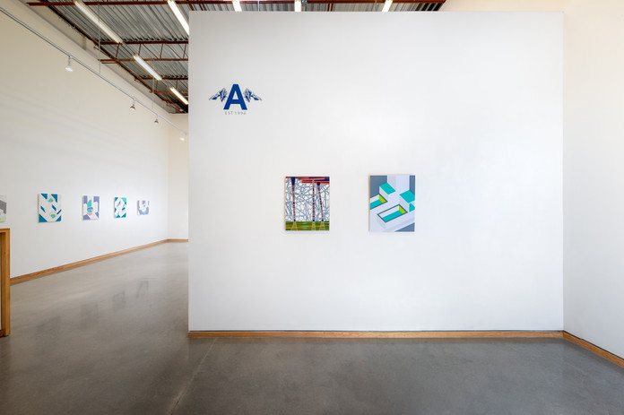 Exhibition view, Photograph by Alex Fischer, courtesy of Angell Gallery