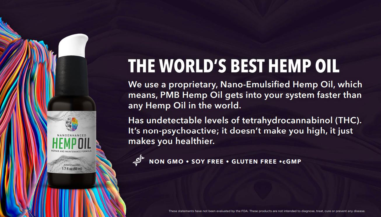 The World's Best Hemp Oil