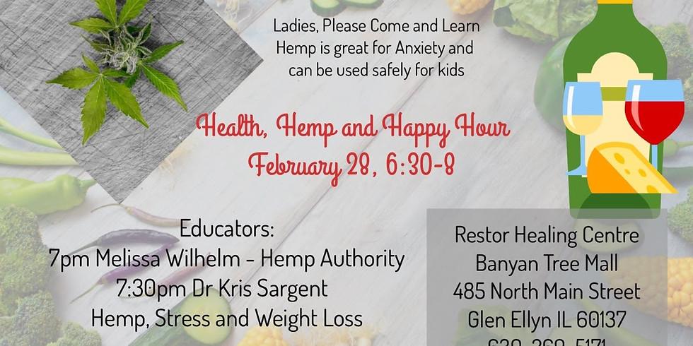 Health, Hemp and Happy Hour