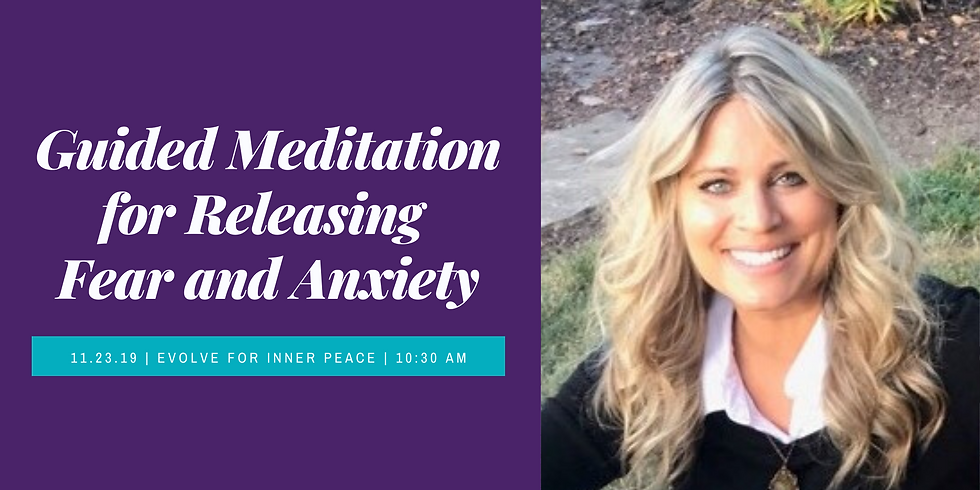 Guided Meditation for Releasing Anxiety and Fear with Melissa Wilhelm